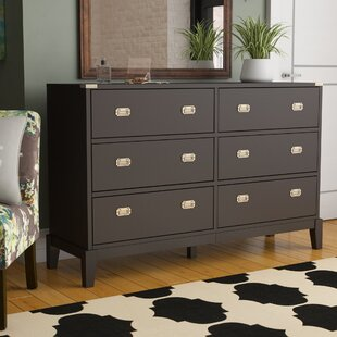 Rose 6 Drawer Double Dresser