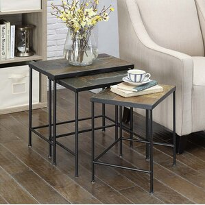 Barker Ridge 3 Piece Nesting Tables