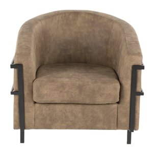 Troxler Barrel Chair by Millwood Pines
