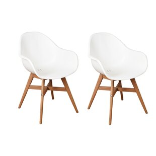 Beams Teak Patio Dining Chair (Set of 2)