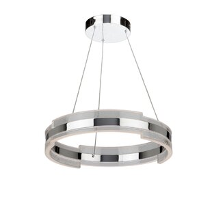 Artcraft Lighting Saturn 1-Light Drum Pendant