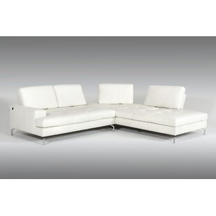 Ridgely Leather Sectional