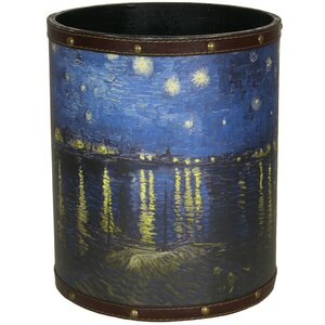 Van Gogh Over the Rhone 2.9 Gallon Waste Basket