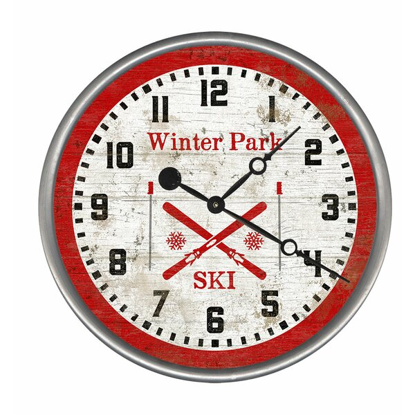 Ski Clock Wayfair Ca