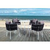 Torney Rope Outdoor 5 Piece Dining Set with Cushions