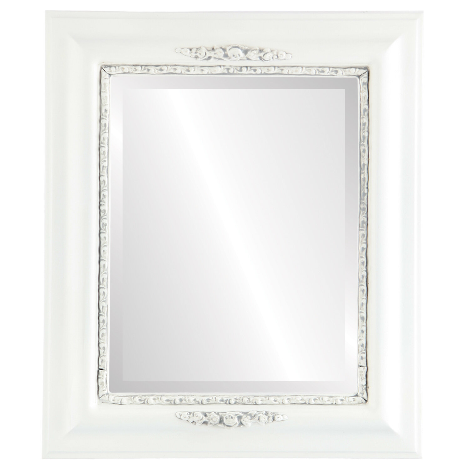 Charlton Home Wisbech Rectangle Cottage Beveled Accent Mirror Wayfair