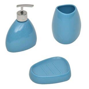 Find Elegance 3 Piece Bathroom Accessory Set ByEvideco