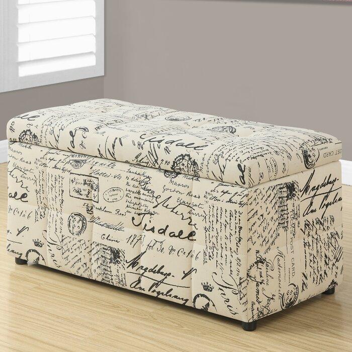Strange Vintage Storage Ottoman Ibusinesslaw Wood Chair Design Ideas Ibusinesslaworg