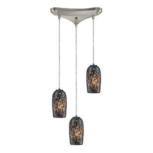 Ryckman 3-Light Pendant by Latitude Run