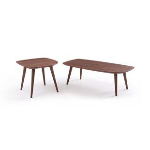 Corrigan Studio Dustin 2 Piece Coffee Table Set