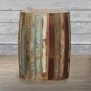 Katahdin Wood End Table by Loon Peak