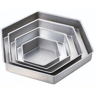 4 Piece Hexagon Performance Pan Set