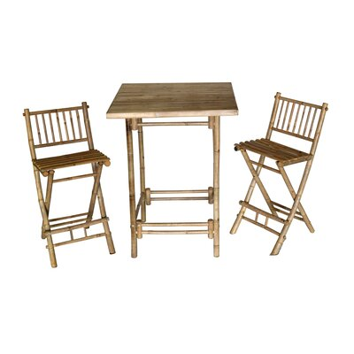 Arbordale 3 Piece Bistro Set by Bay Isle Home #2
