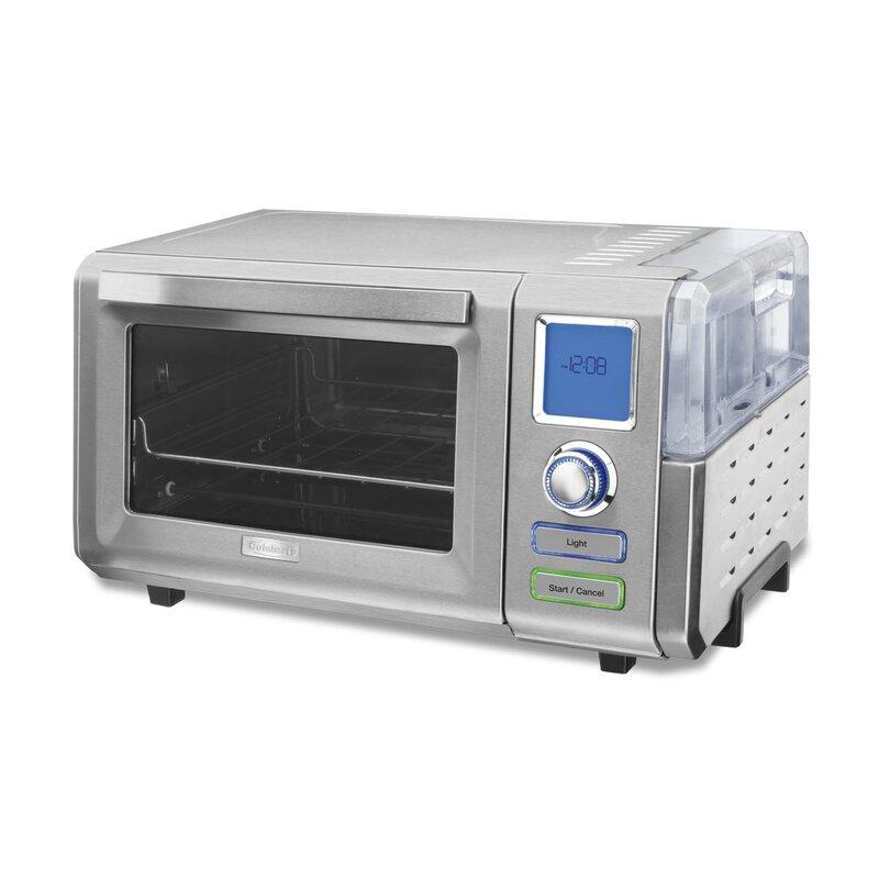 Cuisinart 0 6 Cu Ft Combo Steam Convection Oven Reviews Wayfair