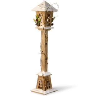 National Tree Co. Wooden Street Lamp