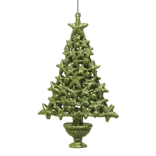 Ziabella Glitter Star Tree Holiday Shaped Ornament Wayfair