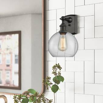 Ivy Bronx Hoddesd 2 Light Armed Sconce Reviews Wayfair Ca