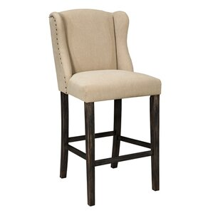 Carbondale Bar Stool With Cushion (Set of 2)  sc 1 st  Wayfair & Distressed Finish Bar Stools Youu0027ll Love | Wayfair islam-shia.org