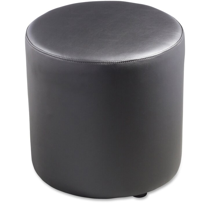 Astonishing Leather Ottoman Squirreltailoven Fun Painted Chair Ideas Images Squirreltailovenorg
