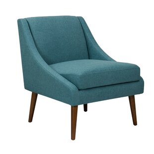 Hause Fabric Upholstered Wooden Side Chair by George Oliver