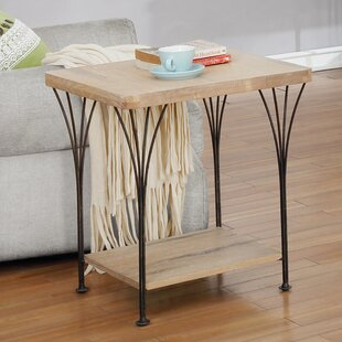 Affordable Pitzer End Table by Williston Forge