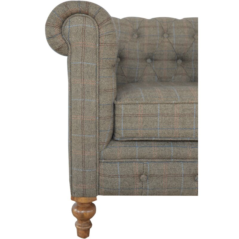Hazelwood Home Chesterfield Single Seater Armchair | Wayfair.co.uk