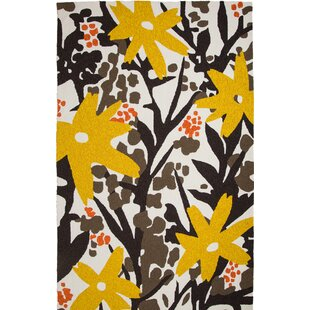 Bloom Hand-Tufted Brown/Gold Indoor/Outdoor Area Rug