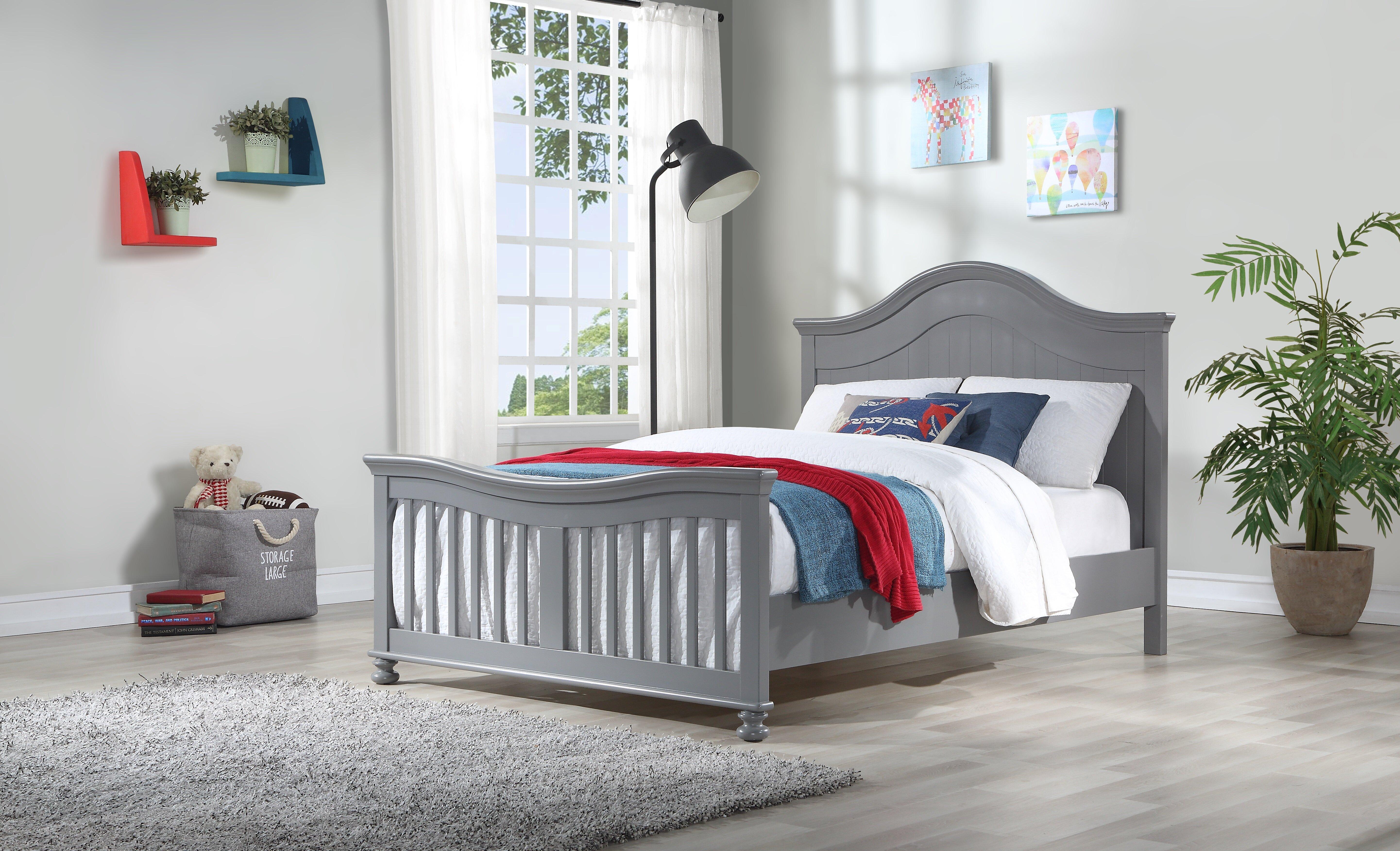 Harriet Bee Nieve Full Platform Bed Wayfair