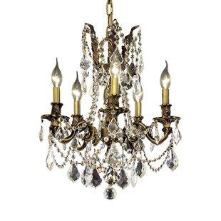 Astoria Grand Utica 5-Light Candle Style Chandelier