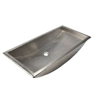 Native Trails, Inc. Trough Metal Rectangular Undermount Bathroom Sink