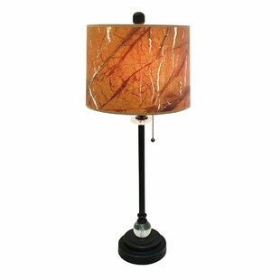 Genta Marble Texture Hardback 28 Table Lamp (Set of 2)