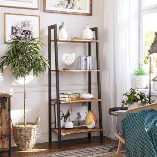 Rustic Ladder Shelf Wayfair Co Uk