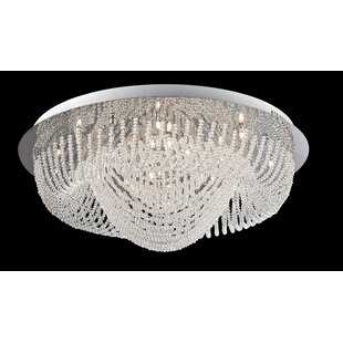 House of Hampton Mei 24-Light Flush Mount