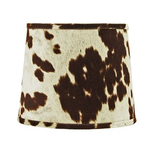 16 Faux Leather Drum Lamp Shade