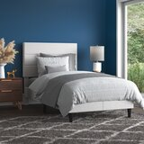 Howle Upholstered Platform Bed by Mercury Row®