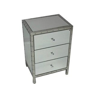 Big Save Carr 3 Drawer Nightstand by Rosdorf Park
