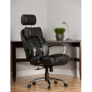 Comfort Products Louis High-Back Leather Executive Chair