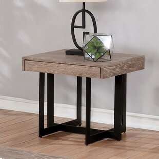 Reiner End Table by Gracie Oaks