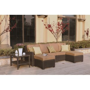 Alcott Hill Stockholm 5 Piece Sectional Set with Cushions