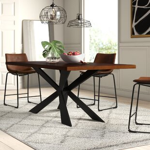 Dupont Wood Dining Table Mercury Row