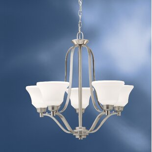Avilla 5-Light Shaded Chandelier by Alcott Hill