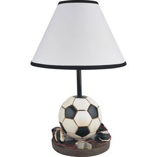 Sports table lamps youll love sports soccer 16 table lamp mozeypictures Choice Image