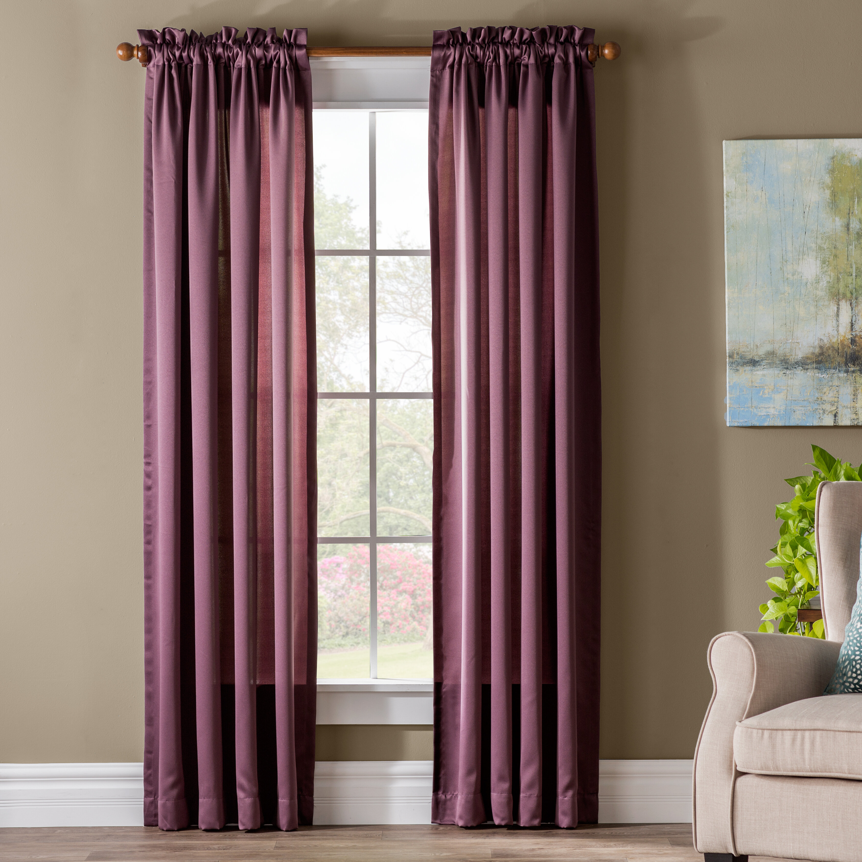 Green Purple Curtains Drapes You Ll Love In 2020