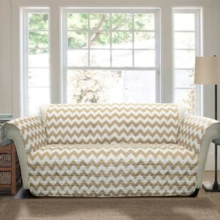Best Primey Bright Bold Box Cushion Sofa Slipcover by Latitude Run Reviews (2019) & Buyer's Guide