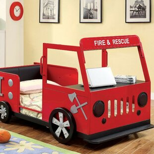 Necaise Fire Truck Twin Panel Bed By Zoomie Kids