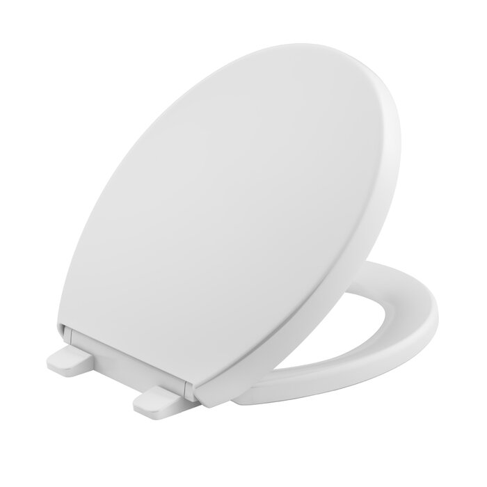 Excellent Reveal Quiet Close With Grip Tight Round Front Toilet Seat Beatyapartments Chair Design Images Beatyapartmentscom