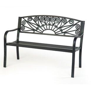Steel Garden Bench by Trademark Innovations