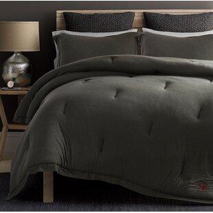 Ivy Bronx Secaucus Rich Ultra-soft Jersey Knit Reversible Comforter Set
