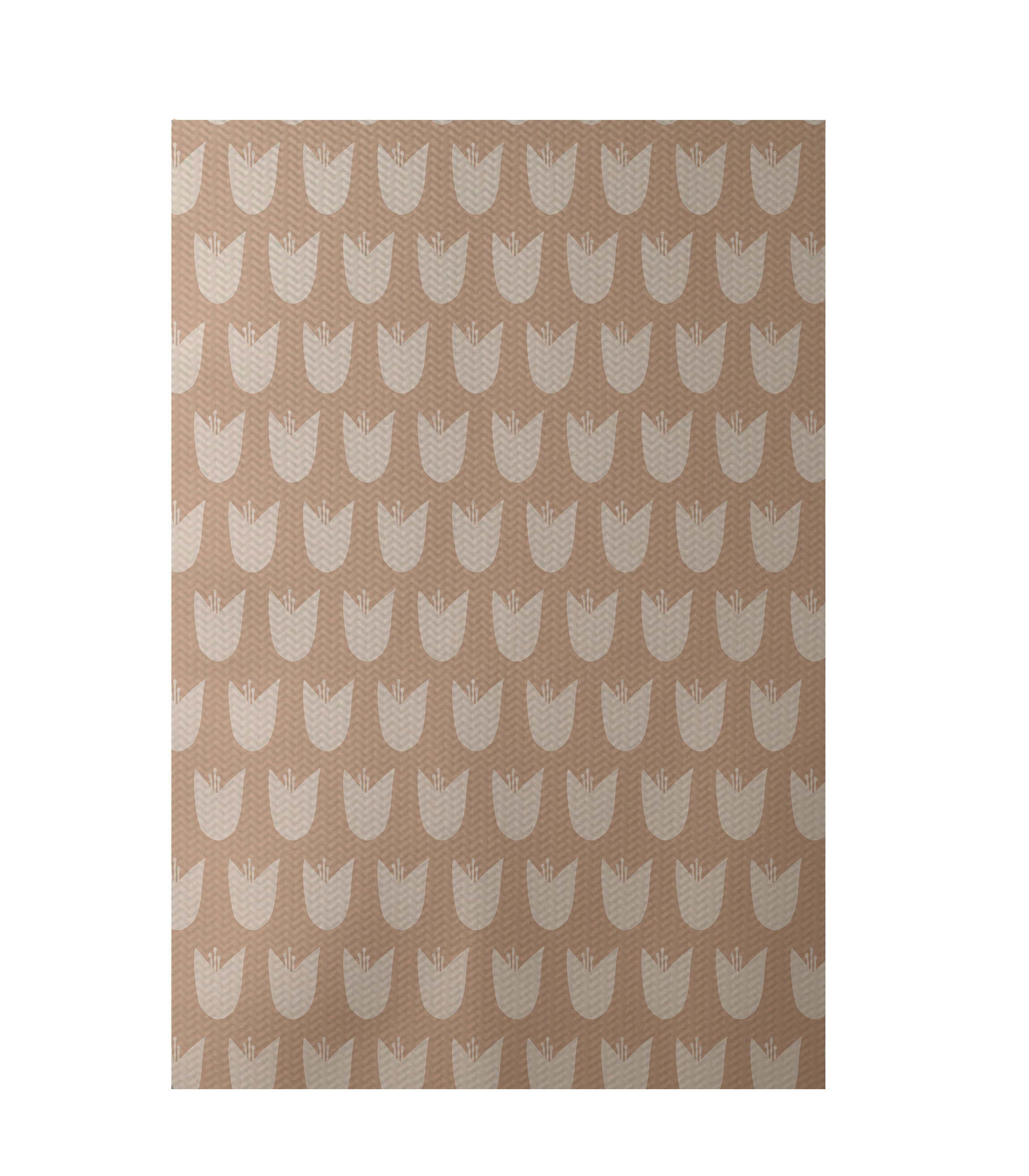 E By Design Flatweave Taupe Area Rug