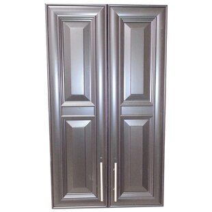 Overton 21 W x 40 H Recessed Cabinet by WG Wood Products